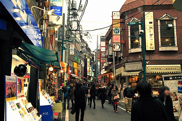 下北沢 商店街 2014年3月