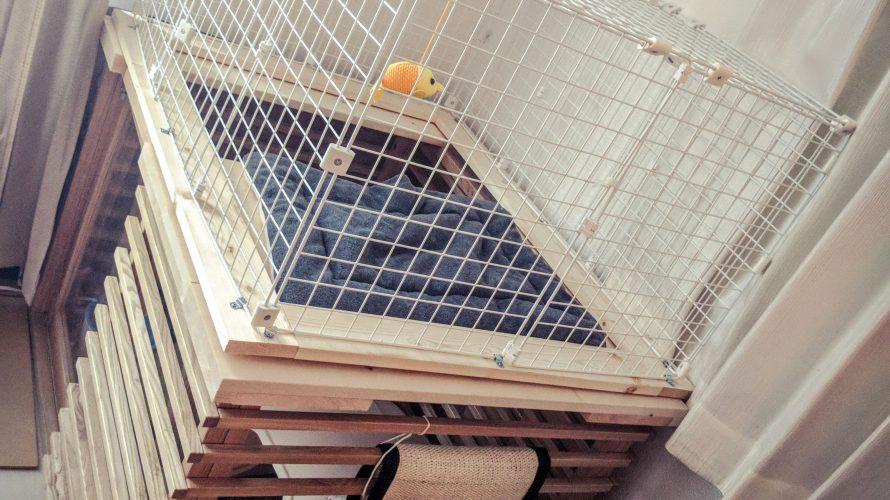 野良猫の寿命は3年-11(2階建ネコハウス完成)